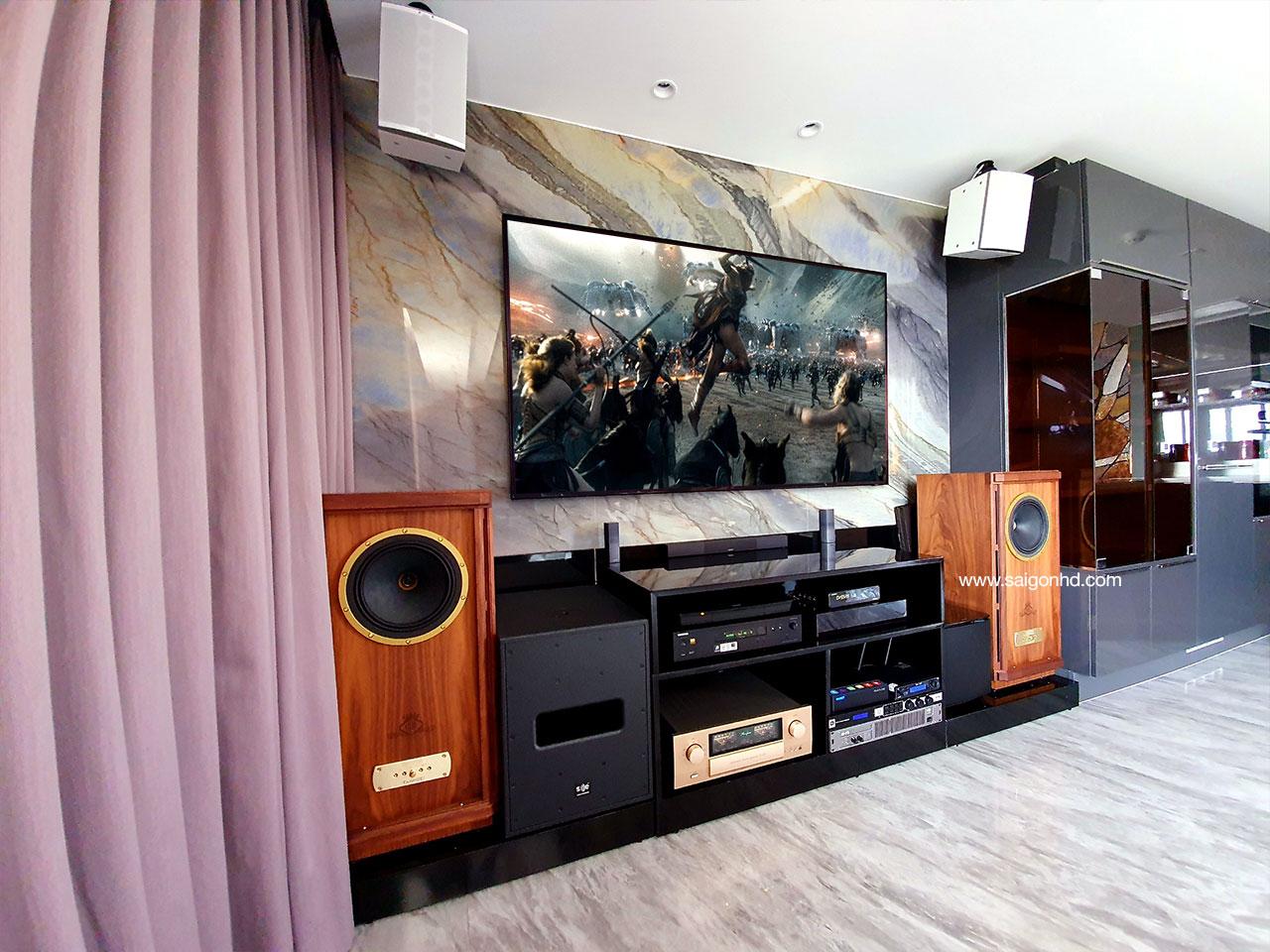 Hệ thống âm thanh giải trí gia đình