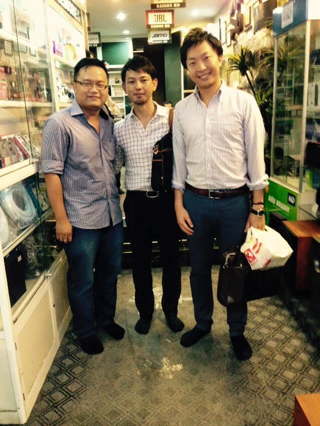 2 đại diện hãng iBuffalo từ Nhật Bản qua tham quan trụ sở chính SAIGON HD