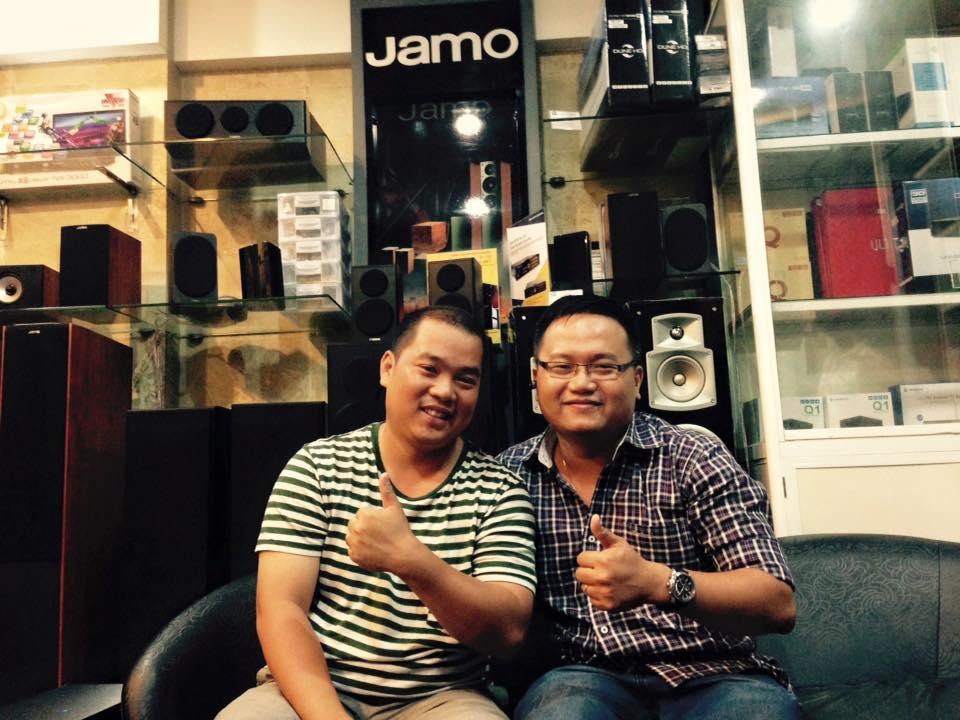 Nhạc sĩ Minh khang - khách hàng thân thiện của Saigonhd