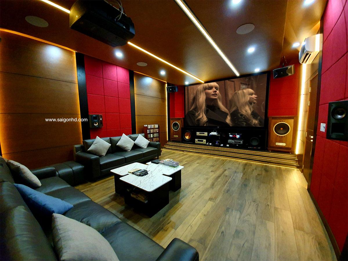 Phòng giải trí gia đình cao cấp