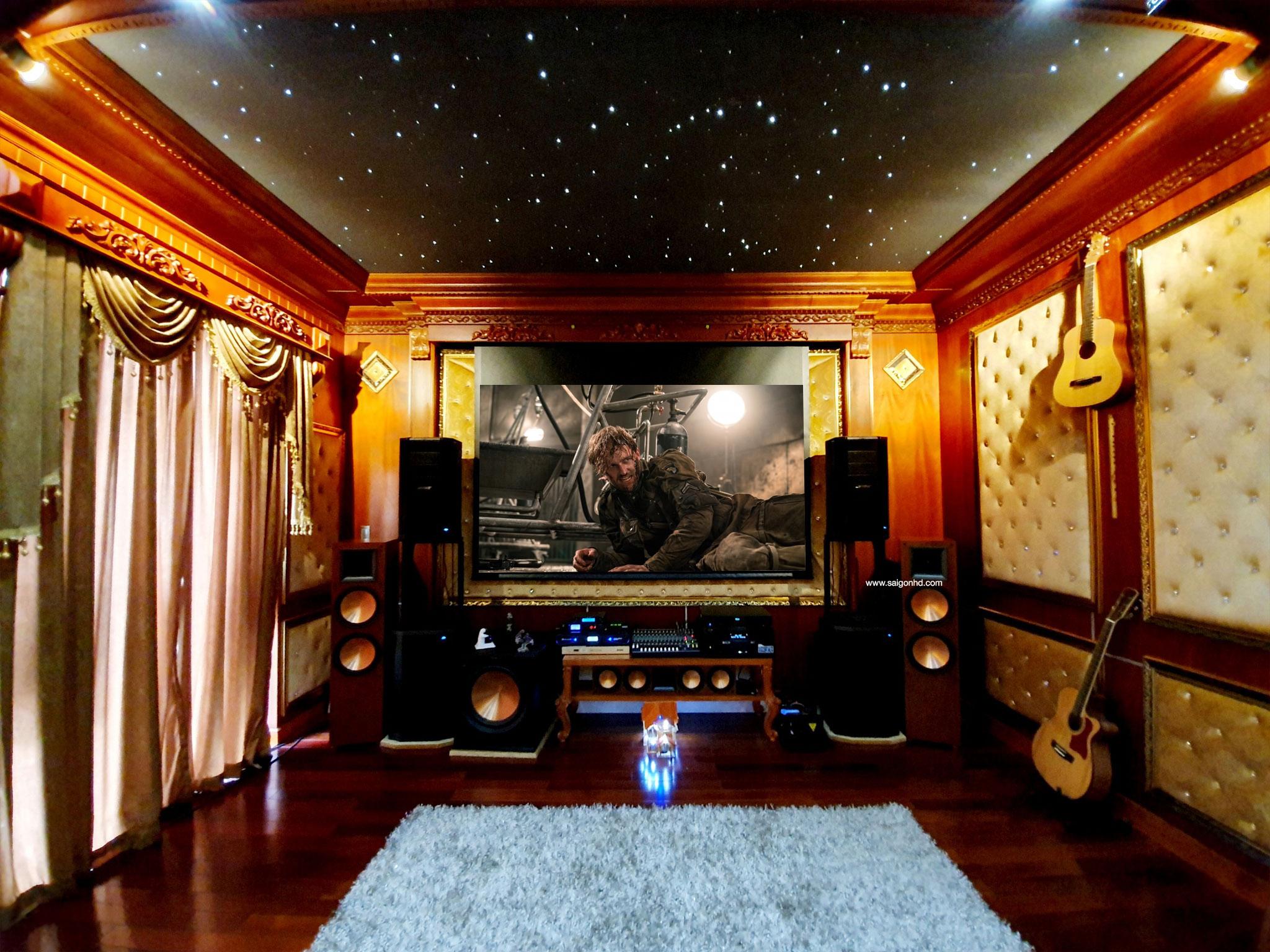 Phòng phim đẳng cấp phong cách cổ điển