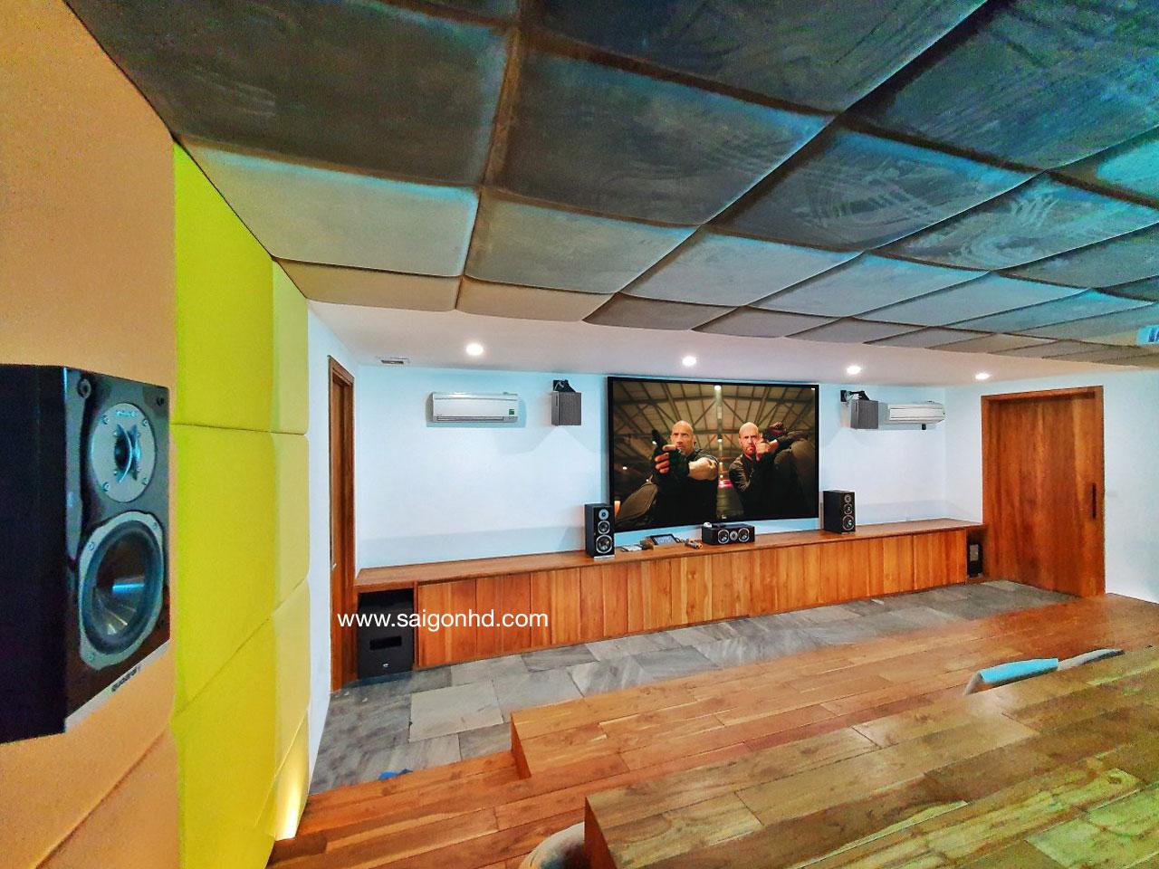 Phòng Karaoke gia đình cao cấp