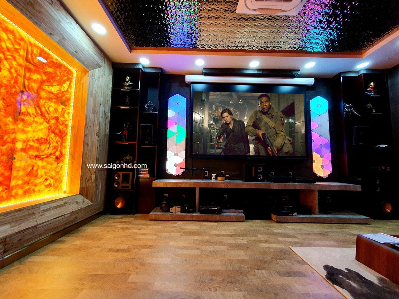 Phòng phim gia đình đẳng cấp với Klipsch THX