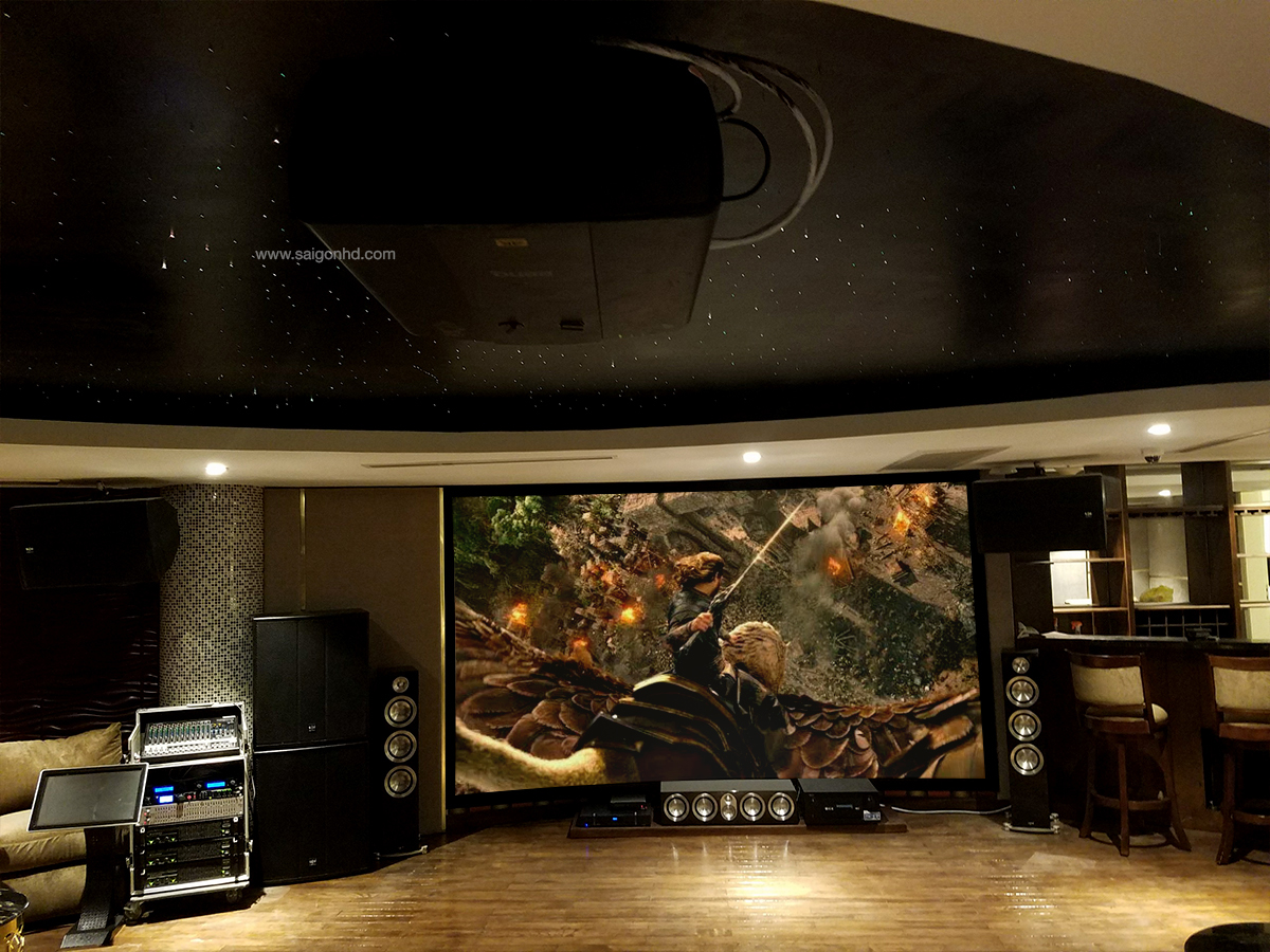 SAIGON HD - Đẳng cấp phòng chiếu phim tại gia