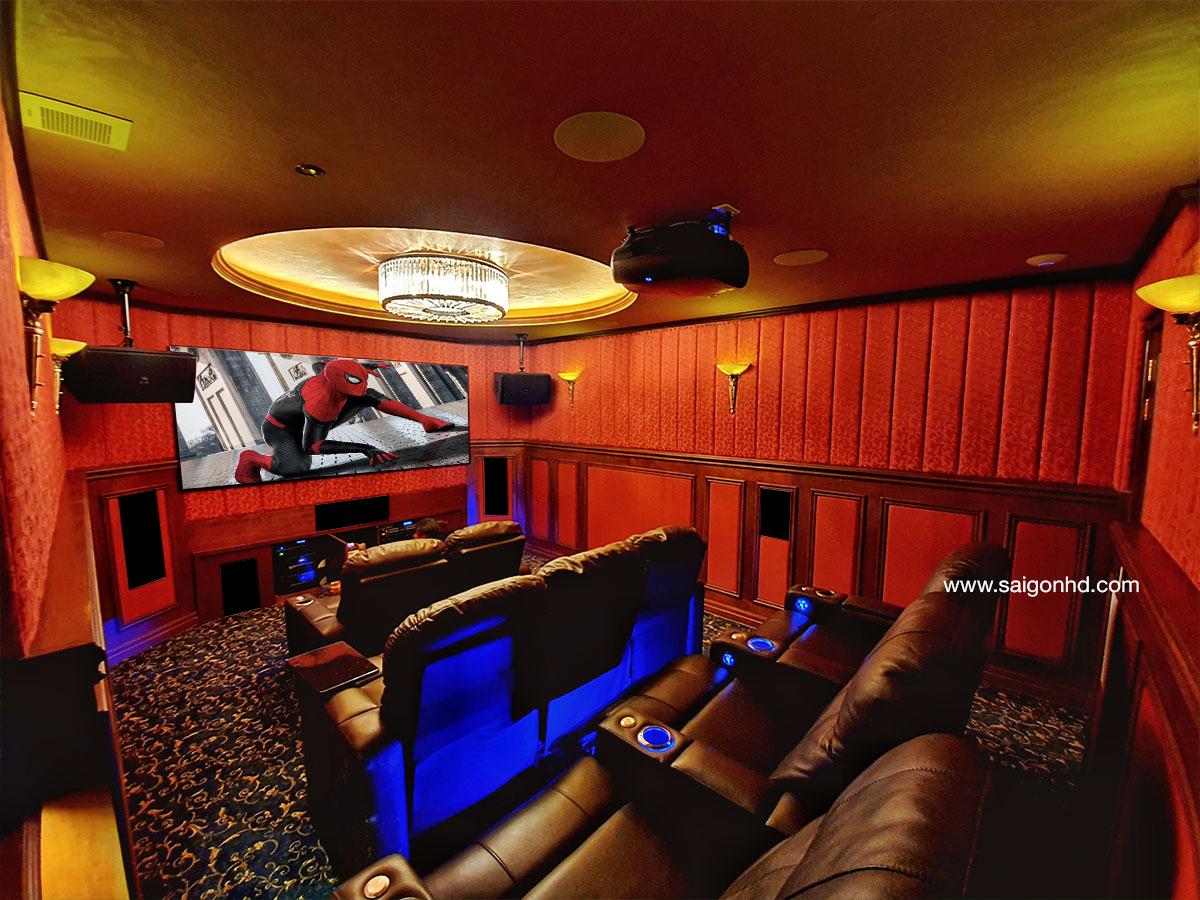 Phòng phim gia đình cao cấp