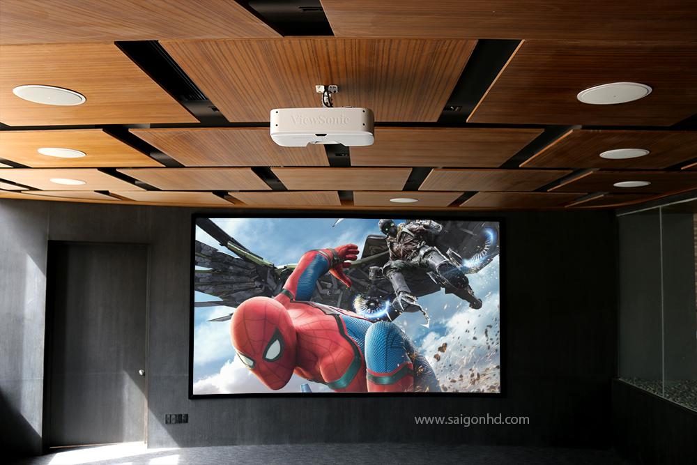 Phòng chiếu phim chuyên nghiệp Khu triển lãm căn hộ mẫu Phú Mỹ Hưng, Quận 7