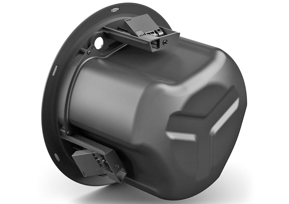 Mặt sau loa Bose Designmax DM6C là backcan giúp bảo vệ các củ loa bên trong