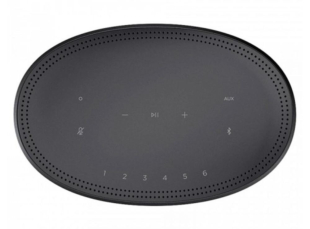 Bảng điều khiển có tích hợp cảm biến vân tay của loa Bose Home Speaker 300