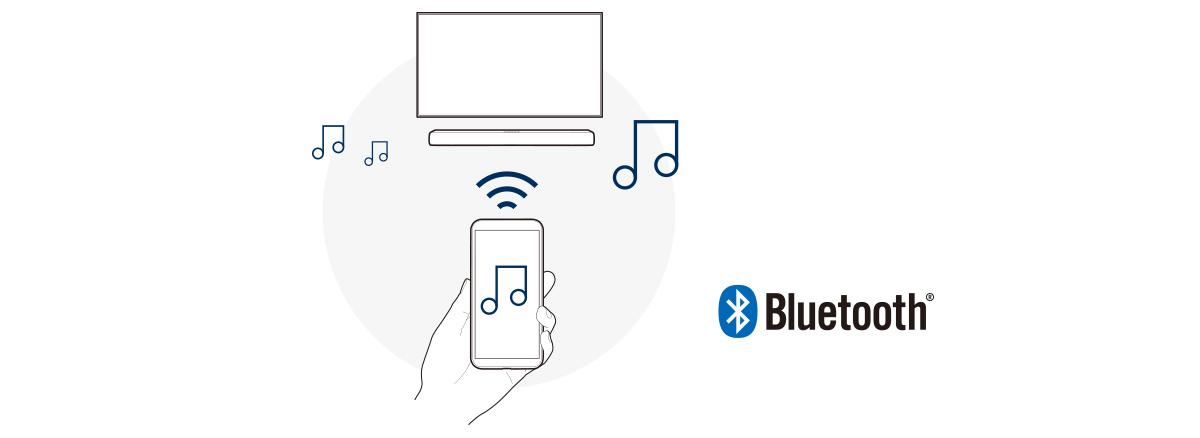 Truyền phát nhạc không dây qua Bluetooth