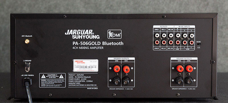 JARGUAR SUHYOUNG PA 506N GOLD BLUETOOTH