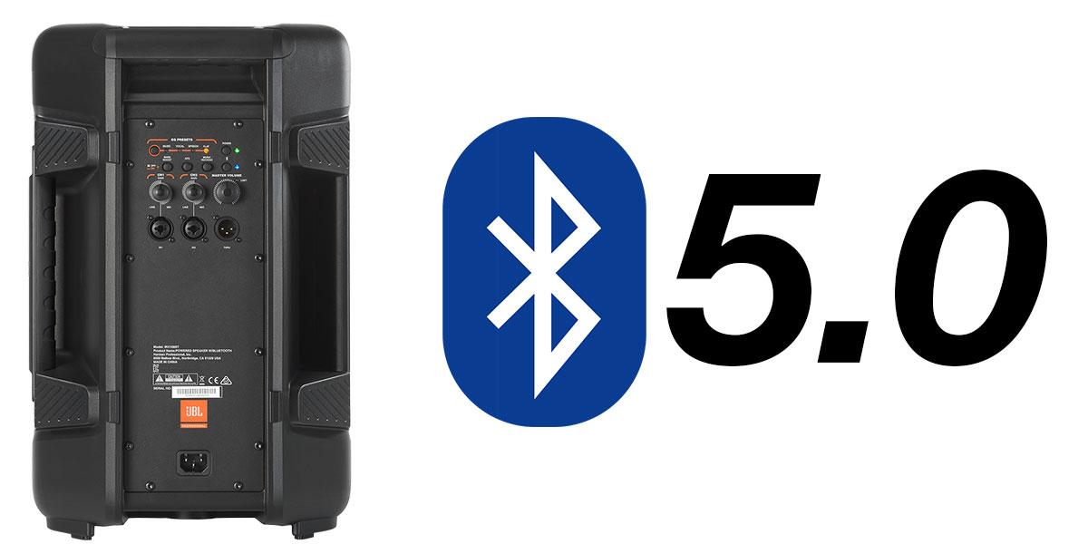 Công nghệ Bluetooth 5.0 Trên JBL IRX108BT