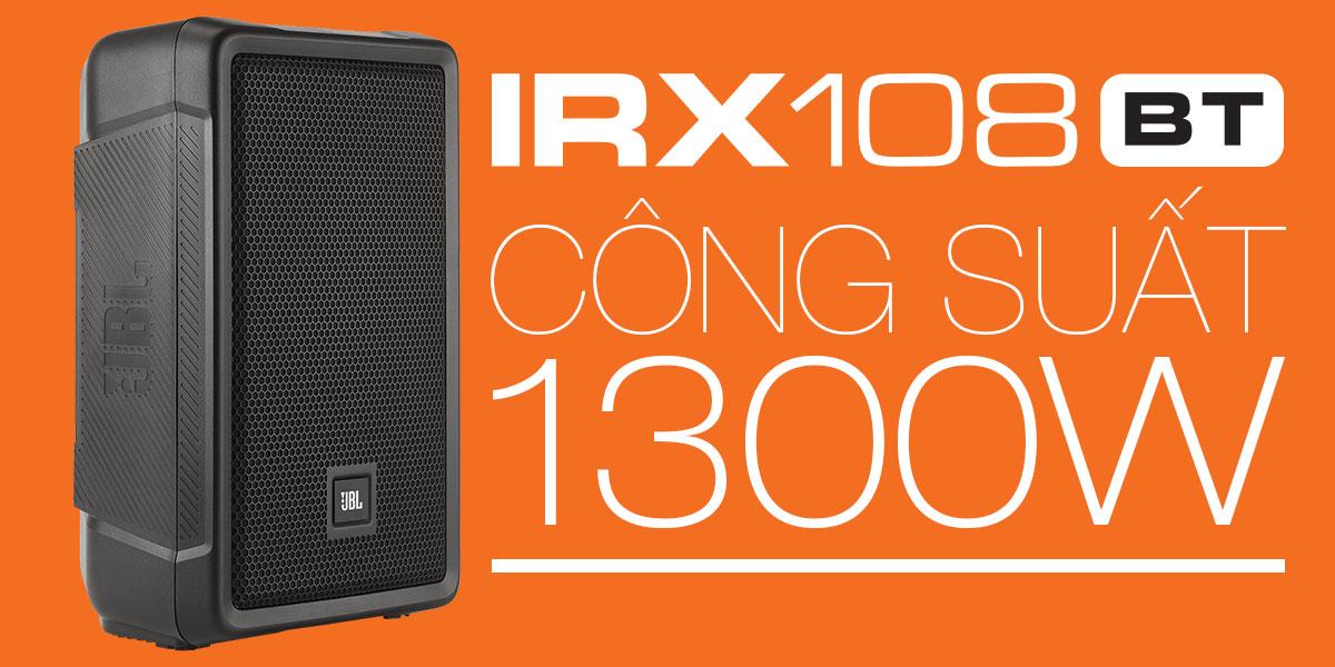 Công suất 1300W trên JBL IRX180BT