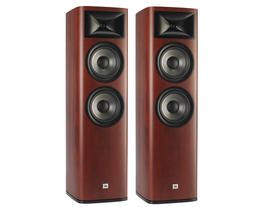 Loa JBL Studio 690 mang thiết kế hiện đại với các đường cạnh bo tròn tinh tế