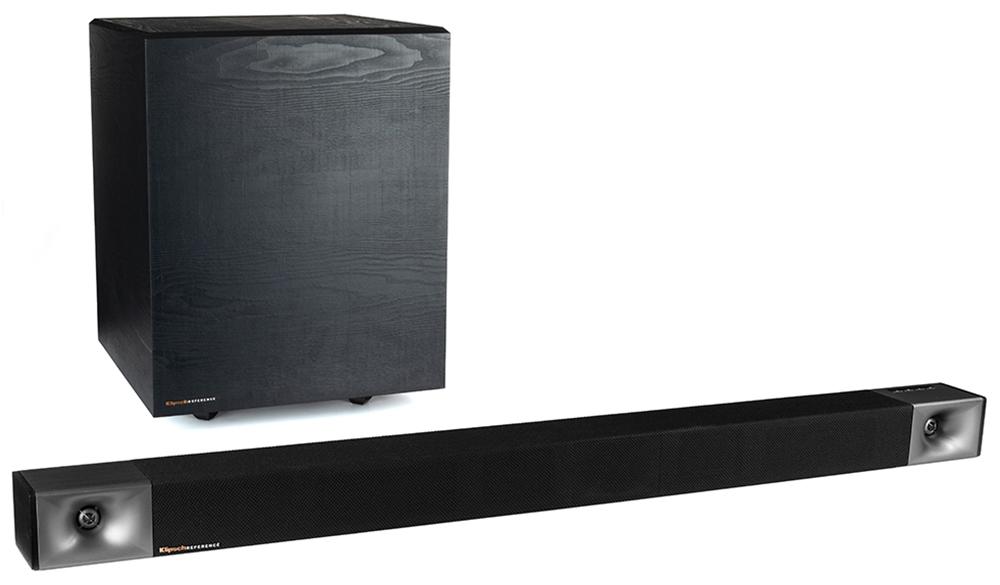 Bộ loa Soundbar Klipsch Cinema 600 có thiết kế nhỏ gọn cùng kết nối không dây cho bạn linh hoạt bố trí