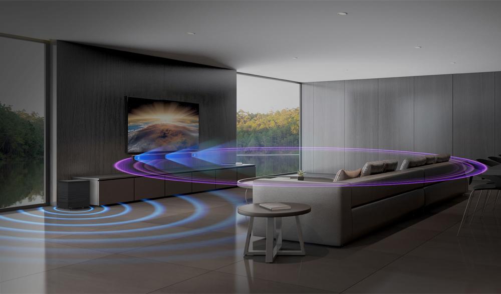 Trải nghiệm âm thanh vòm 5.1 thực sự với bộ loa Soundbar Cinema 600
