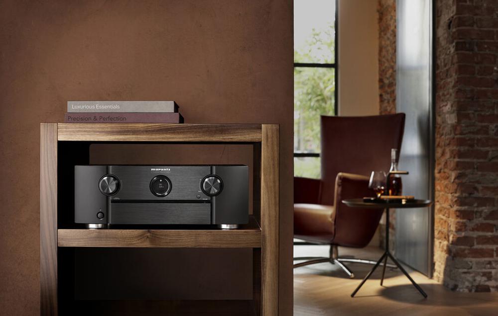 Amply Marantz SR6015 tạo nên vẻ đẹp sang trọng cho không gian nhà bạn