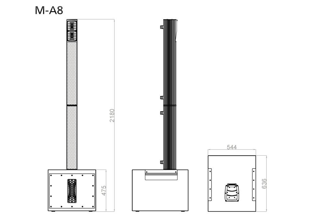 SE AUDIOTECHNIK M-A8