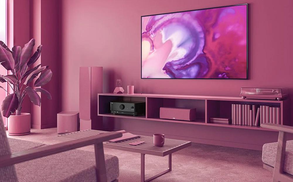 Âm thanh lan tỏa khắp nhà với tính năng phát nhạc không dây MusicCast từ đầu thu RX V4A