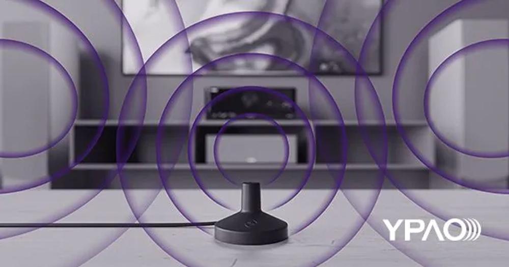 RX V6A trang bị hệ thống điều chỉnh âm thanh tự động YPAO cho hiệu suất nghe tối ưu